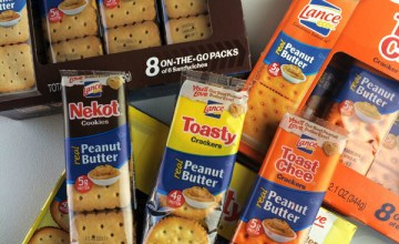 5 Ways to Snack on Lance Peanut Butter Sandwich Crackers and Cookies {Giveaway}