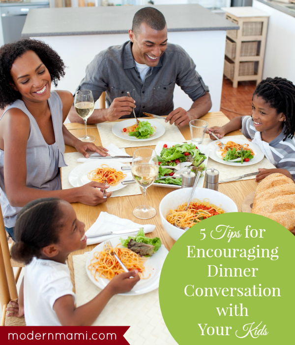 Encouraging Dinner Conversation with Kids