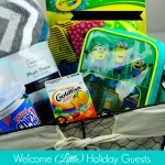 Hosting Holiday Guests: Create a Welcome Basket for Kids!