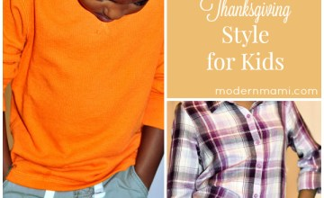 Thanksgiving Style for Kids: Casual & Cute