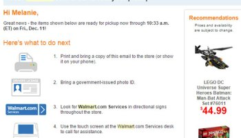 Walmart's Pick Up Today Combines Online Shopping with