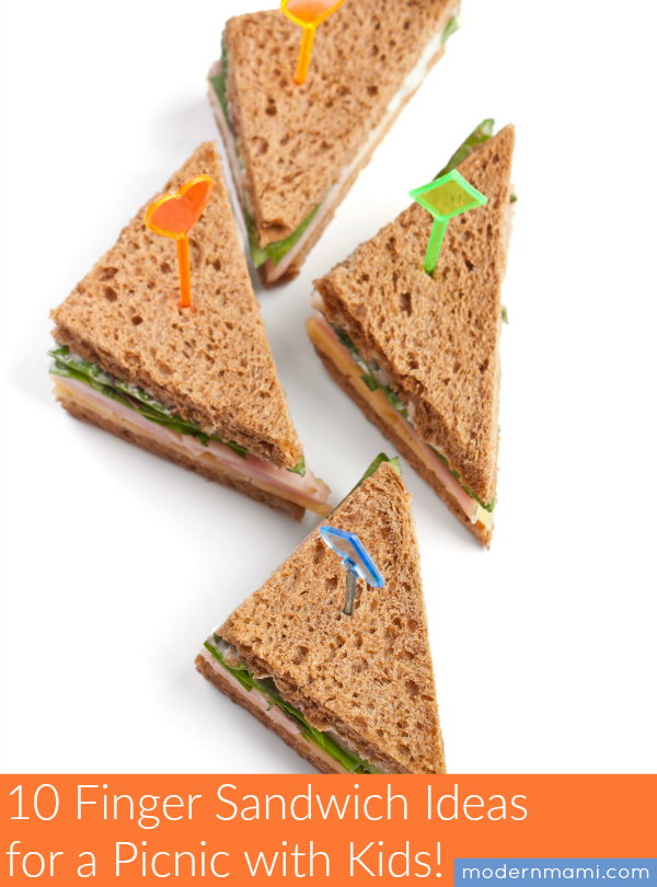 10 Finger Sandwich Ideas for a Picnic with Kids! | modernmami™