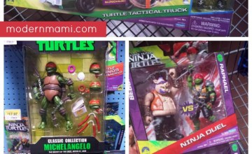 Find All Your Teenage Mutant Ninja Turtles Fun at Walmart!