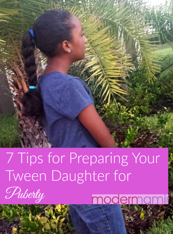 7 Tips to Help Prepare Your Tween Daughter for Puberty