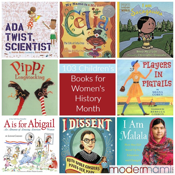 Children's Books for Women's History Month: 103 Books for ...
