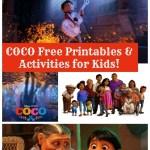 Disney Pixar's Coco Free Printables & Activities for Kids!