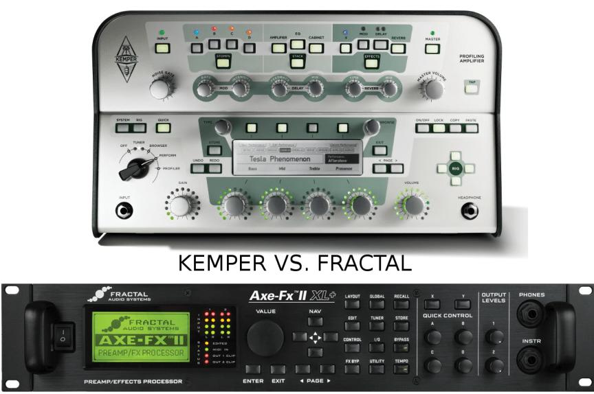 Digital Modeling of Amps: Kemper vs Fractal – Modern Mojo Guitars