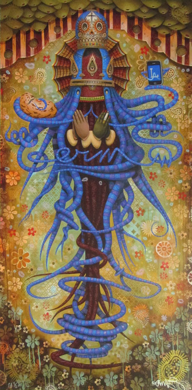 Artist: Germs Title: Purgatory Mary (Small) (B.A.T.)
