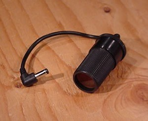 Car Charger Socket with 3.5x1.1mm Connect