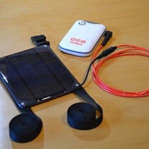 Kayak 2 solar charger kit