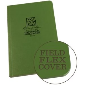 Rite in the Rain 974 green field flex notebook