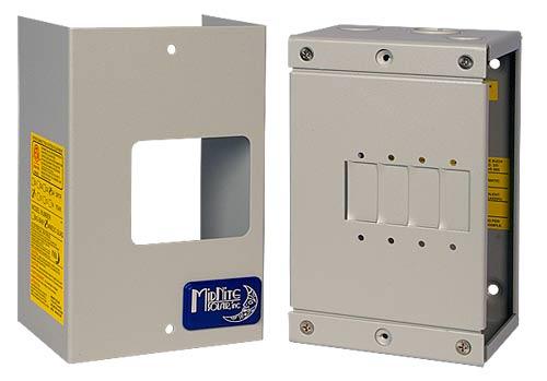 Midnite Solar Quad Box DC load centre