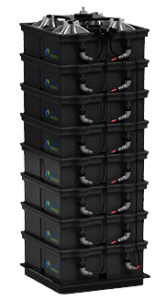 aquion aspen saltwater battery stack