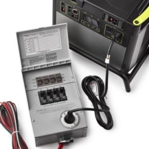 goal zero Yeti Home Integration kit 44060 connection
