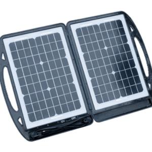 aervoe sierra wave 30w clamshell folding solar