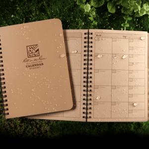 rite in the rain 9263mt calendar planner spread
