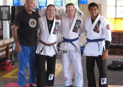 Kyle and Clint – 2 New Blue Belts