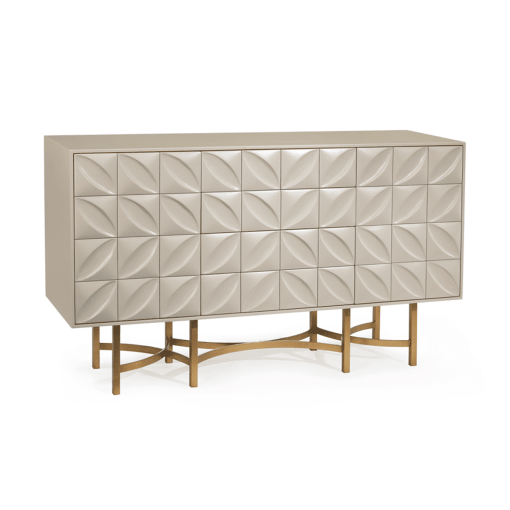 dining room ghost white credenza