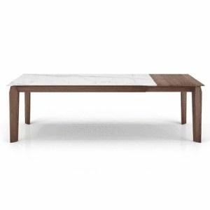 dining room magnolia ceramic extendable table