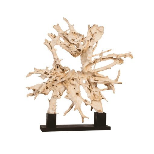 accessories teak sculpture 84-inch