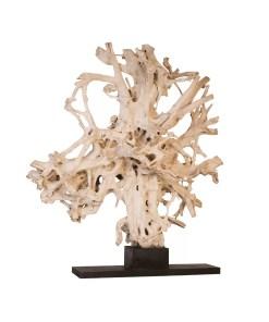 accessories teak sculpture 90-inch