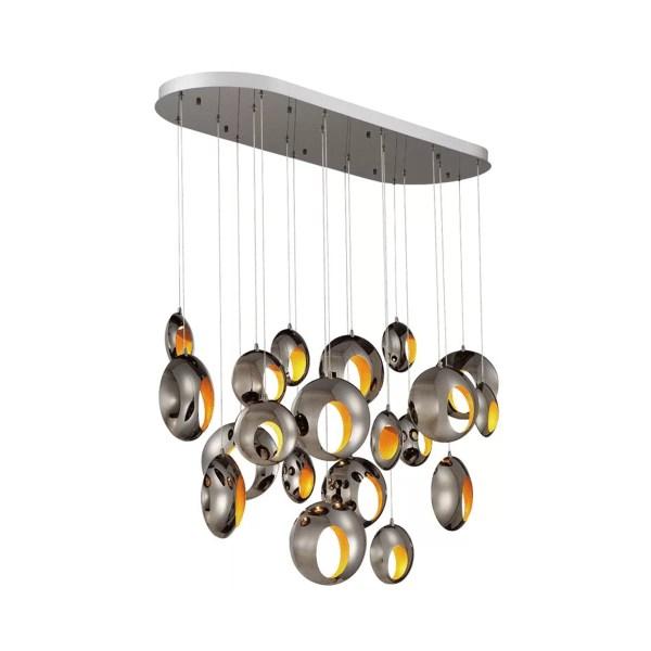 lighting arlington oval chandlier