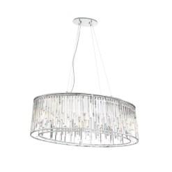 lighting genova 40-inch chandelier