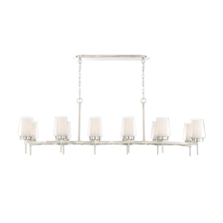 lighting_manchester 59-inch chandelier satin nickel