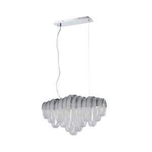 lighting sage linear chandelier
