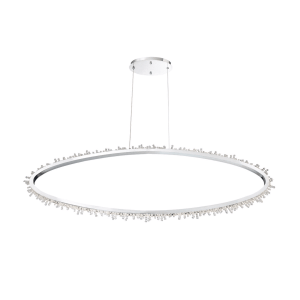 lighting scoppia oval chandelier