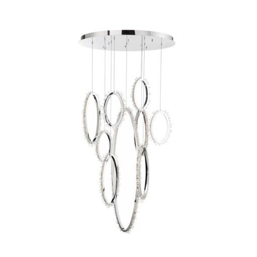 lighting bessie round chandelier