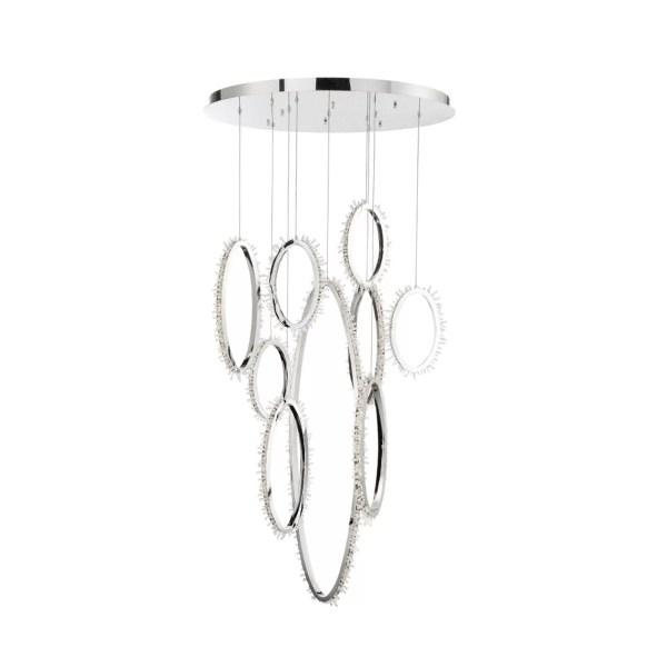 lighting scoppia round chandelier