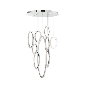 lighting scoppia round chandelier