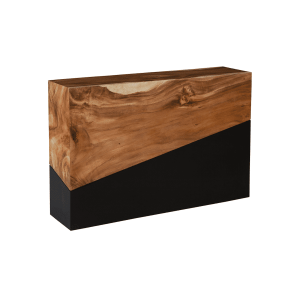 living room geometry console table