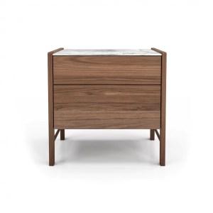bedroom frida 2-drawer night stand