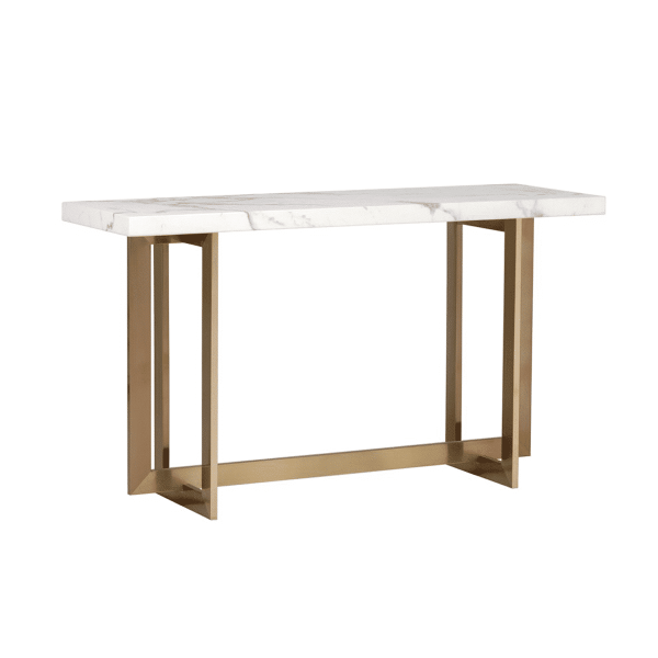 living room violette console table