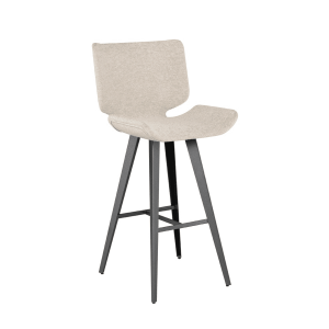 astra bar stool in shell