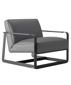 crosby lounge chair graphite
