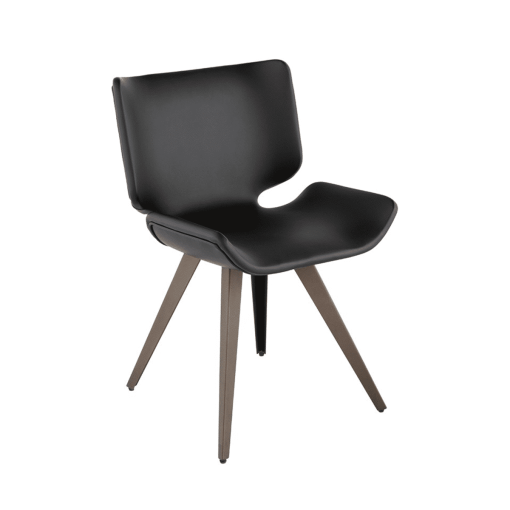 dining room astra chair in black