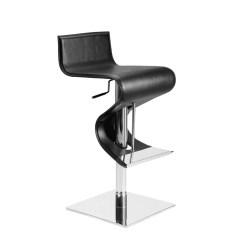 portland hydraulic stool black