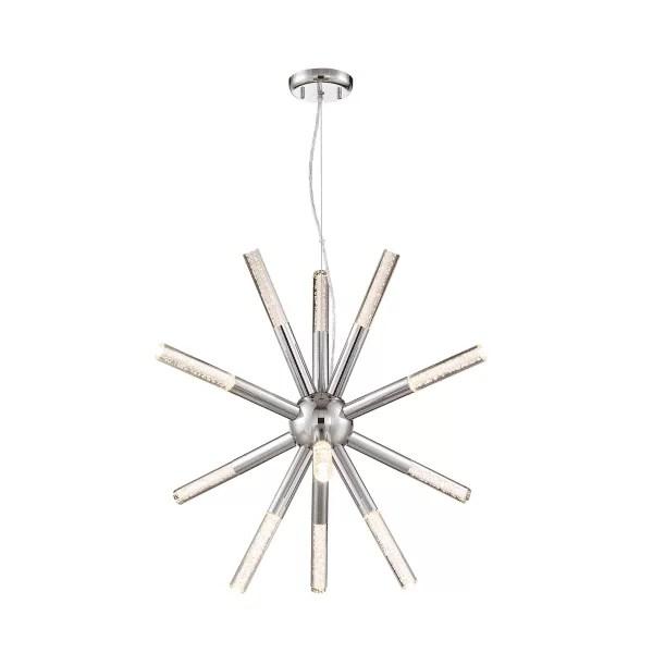 star-shaped chandelier