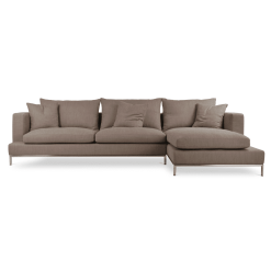 living room simena sectional mocha