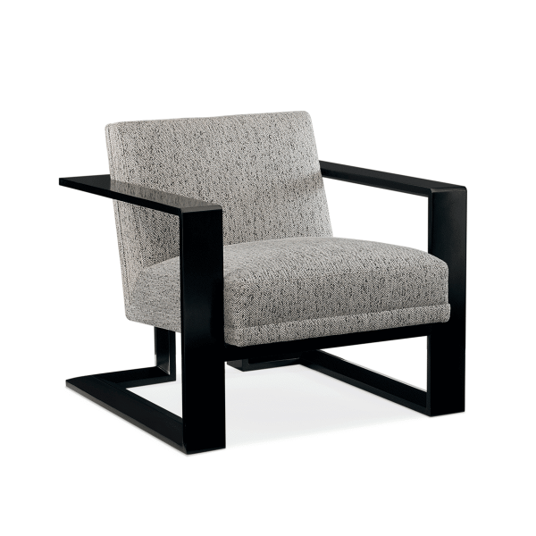 elements accent chair with metal base