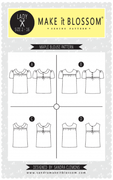 maple blouse pattern