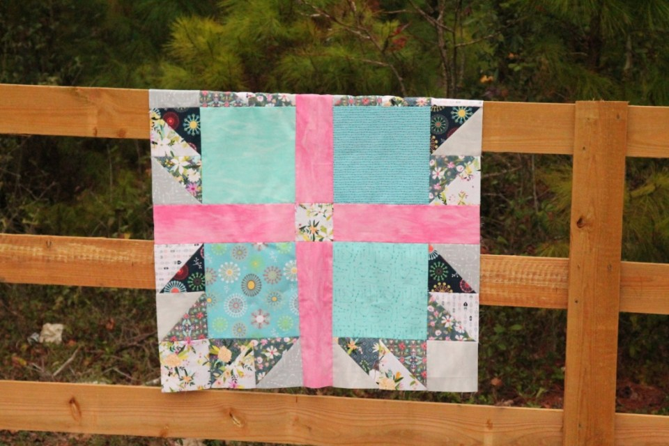 girl bear paw quilt