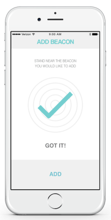 mockup - add beacon