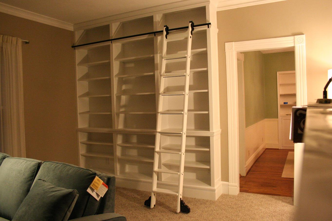 Do It Yourself Library Ladder