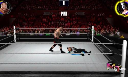 wwe 2k gameplay screen shot