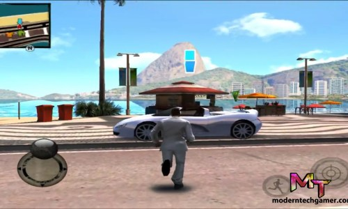 %Gangstar Rio: City of Saints gameplay screen shot