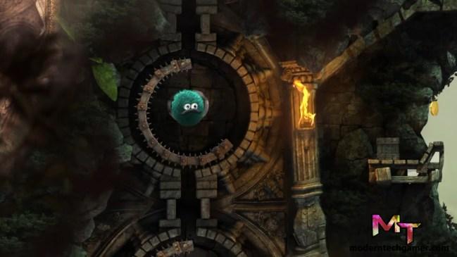 %Leo's Fortune gameplay screen shot